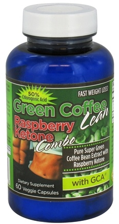 DROPPED: Gold Star Nutrition - Green Coffee Lean Raspberry Ketone Combo with GCA - 60 Vegetarian Capsules