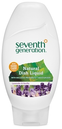 DROPPED: Seventh Generation - Natural Dish Liquid Lavender & Vanilla - 18 oz. CLEARANCE PRICED