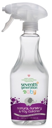 DROPPED: Seventh Generation - Natural Baby Nursery & Toy Cleaner - 18 oz. CLEARANCE PRICED