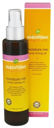 DROPPED: Mambino Organics - Moisture Me Body Toning Oil - 5 oz.