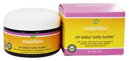 DROPPED: Mambino Organics - Oh Baby Belly Butter - 4 oz.
