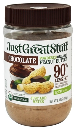 Betty Lou's - Just Great Stuff Organic Powdered Peanut Butter Chocolate - 6.43 oz.