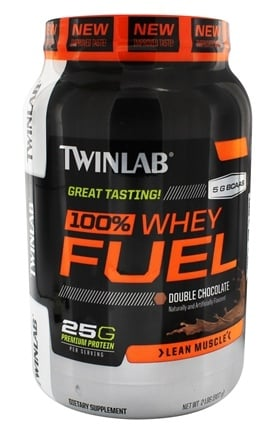 DROPPED: Twinlab - 100% Whey Fuel Double Chocolate - 2 lbs. CLEARANCE PRICED