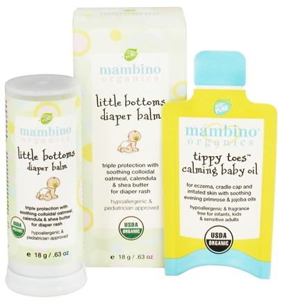 DROPPED: Mambino Organics - Little Bottoms Diaper Balm - 0.63 oz. CLEARANCED PRICED