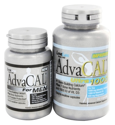 DROPPED: Lane Labs - AdvaCAL Ultra 1000 with Trial AdvaCAL for Men - 120 Capsules/42 Capsules