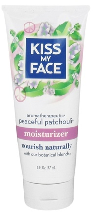 DROPPED: Kiss My Face - Moisturizer Aromatherapeutic Peaceful Patchouli - 6 oz. CLEARANCED PRICED