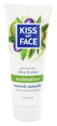 DROPPED: Kiss My Face - Moisturizer Sensitive Olive & Aloe - 6 oz.
