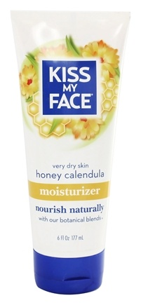 DROPPED: Kiss My Face - Moisturizer Honey Calendula - 6 oz.