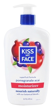 DROPPED: Kiss My Face - Moisturizer Superfruit Formula Pomegranate Acai - 16 oz.