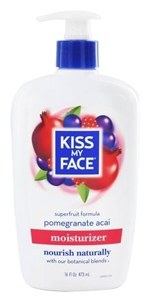 Kiss My Face - Moisturizer Superfruit Formula Pomegranate Acai - 16 oz.