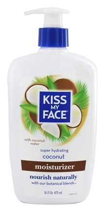 Kiss My Face - Moisturizer Super Hydrating Coconut - 16 oz.
