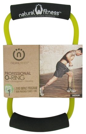 DROPPED: Natural Fitness - Professional O-Ring - Medium - Moss - CLEARANCED PRICED