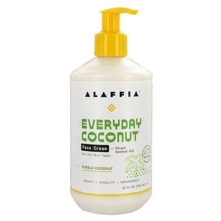 Alaffia - Everyday Coconut Face Cream Nighttime Replenishing - 12 oz.