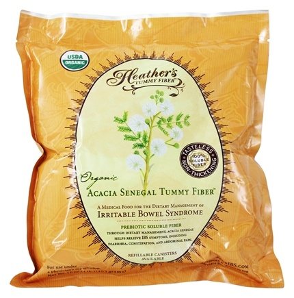 Heather's Tummy Care - Tummy Fiber Organic Acacia Senegal Powder Pouch - 16 oz.