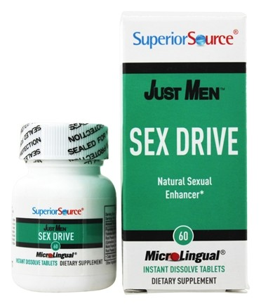 DROPPED: Superior Source - Just Men Sex Drive - 60 Tablet(s)