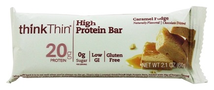 Think Products - thinkThin Protein Bar Caramel Fudge - 2.1 oz.