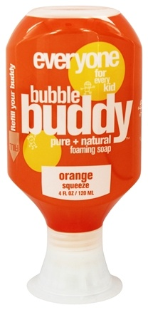 DROPPED: EO Products - Everyone for Kids Bubble Buddy Foaming Soap Orange Squeeze - 4 oz.