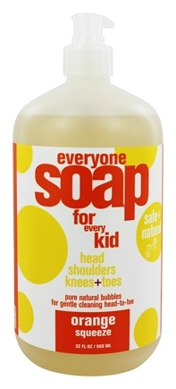 EO Products - Everyone Soap for Every Kid Orange Squeeze - 32 oz.