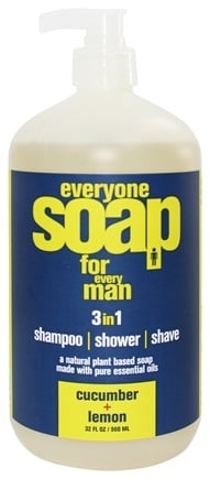 EO Products - Everyone Soap for Men Cucumber & Lemon - 32 oz.