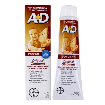 DROPPED: A+D - Original Ointment - 4 oz. CLEARANCE PRICED