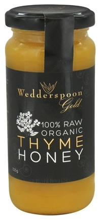 DROPPED: Wedderspoon Organic - 100% Raw Organic Thyme Honey - 11.46 oz.