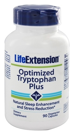 Life Extension - Optimized Tryptophan Plus - 90 Vegetarian Capsules