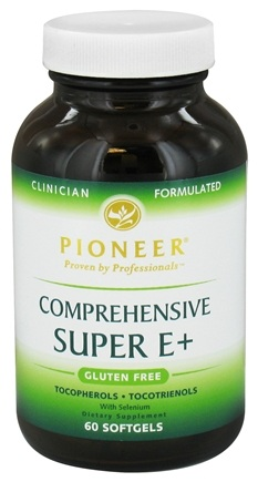 DROPPED: Pioneer - Comprehensive Super E+ - 60 Softgels CLEARANCED PRICED
