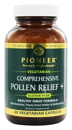 Pioneer - Comprehensive Pollen Relief+ - 60 Vegetarian Capsules