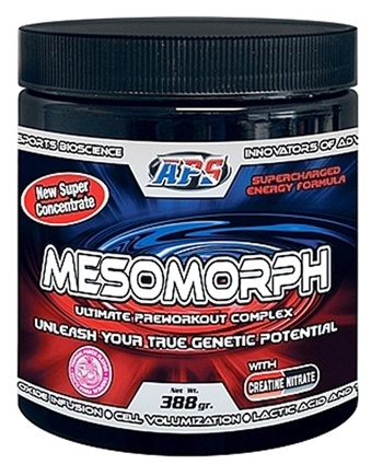 DROPPED: Hi-Tech Pharmaceuticals - Mesomorph APS Ultimate Preworkout Complex Tropical Punch 25 Servings - 388 Grams