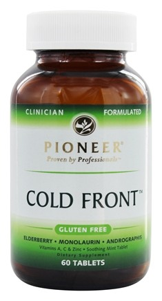 Pioneer - Cold Front - 60 Tablets