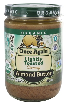 Once Again - Organic Lightly Toasted Almond Butter Creamy - 16 oz.