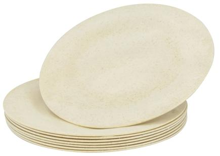 "DROPPED: Susty Party - Compostable Disposable Plates 7"" Natural - 8 Count CLEARANCED PRICED"