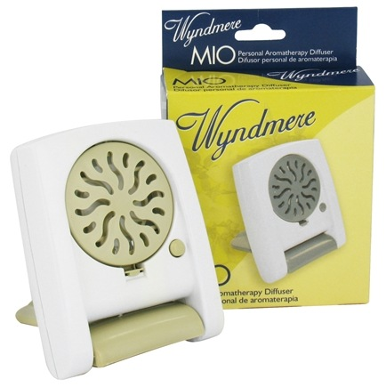 Wyndmere Naturals - Aromatherapy Diffuser Personal MIO 3.5 in. x 2.75 in. x 3.25 in. Sand