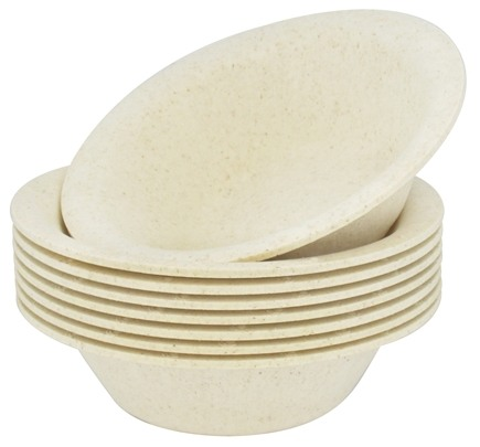 DROPPED: Susty Party - Compostable Disposable Bowls 12 oz. Natural - 8 Count CLEARANCED PRICED