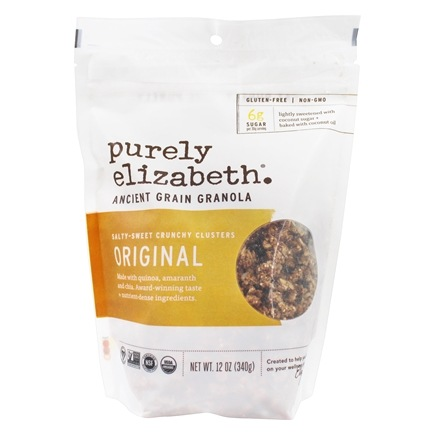 Purely Elizabeth - Ancient Grain Granola Cereal Original - 12 oz.