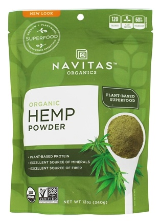 Navitas Naturals - Raw Hemp Protein Powder Certified Organic - 12 oz.