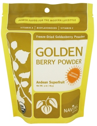 DROPPED: Navitas Naturals - Organic Golden Berry Powder - 3 oz. CLEARANCE PRICED