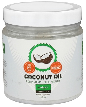 DROPPED: Onnit - Organic Extra Virgin Coconut Oil - 16 oz.