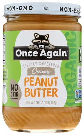 Once Again - Organic American Classic Peanut Butter Creamy - 16 oz. LUCKY PRICE