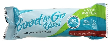 South Beach Diet - Good to Go Bars Extra Protein Iced Cinnamon Pecan - 5 Bars