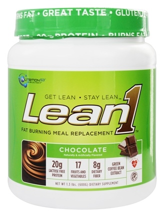 DROPPED: Nutrition 53 - Lean1 Performance Shake Chocolate - 1.3 lbs.
