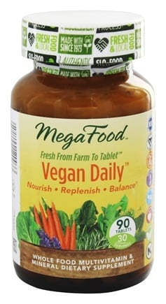 DROPPED: MegaFood - Vegan Daily Multivitamin - 90 Tablets