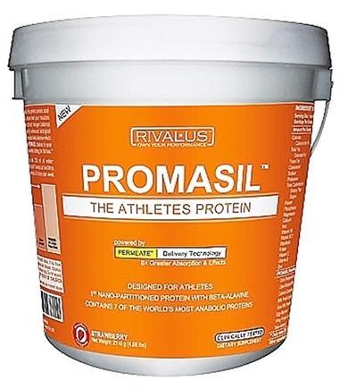 DROPPED: Rivalus - Promasil The Athletes Protein Strawberry - 4 lbs.