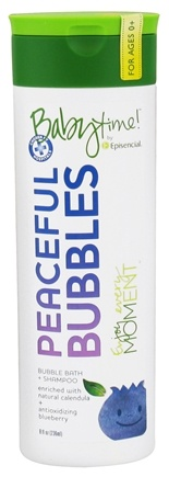 DROPPED: Episencial - Babytime! Peaceful Bubbles Bubble Bath & Shampoo - 8 oz. CLEARANCE PRICED