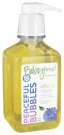 DROPPED: Episencial - Babytime! Peaceful Bubbles Bubble Bath & Shampoo - 22.6 oz. CLEARANCED PRICED