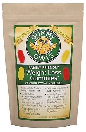 DROPPED: Gummy Owls - Weight Loss Gummies Family Friendly - 180 Gummies CLEARANCE PRICED