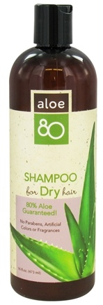 DROPPED: Lily Of The Desert - Aloe 80 Shampoo Dry Hair - 16 oz. CLEARANCE PRICED
