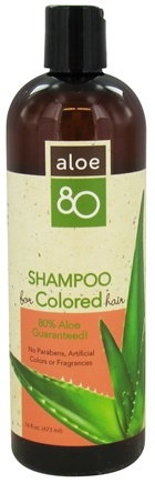 DROPPED: Lily Of The Desert - Aloe 80 Shampoo for Colored Treated Hair - 16 oz.