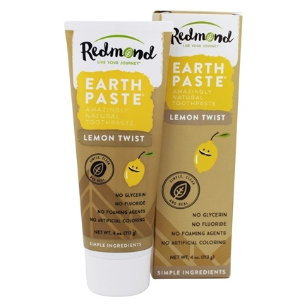 Redmond Trading - Earthpaste Amazingly Natural Toothpaste Lemon Twist - 4 oz.