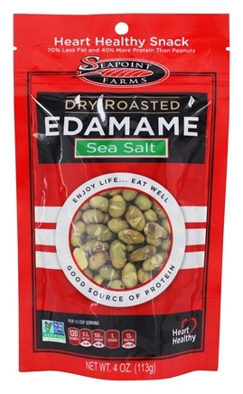 SeaPoint Farms - Edamame Dry Roasted Sea Salt - 4 oz.
